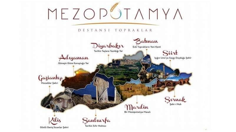 Turkey's new travel brand  —  Mesopotamia