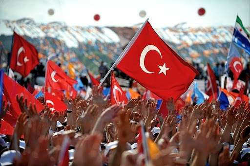 Turkey ranks 19th in the world in terms of population