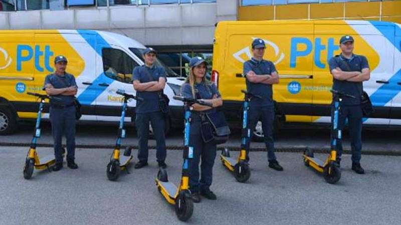 PTT postmen change to electric scooters