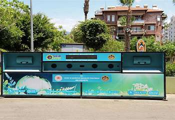 Zero Waste Project is being implemented in Alanya