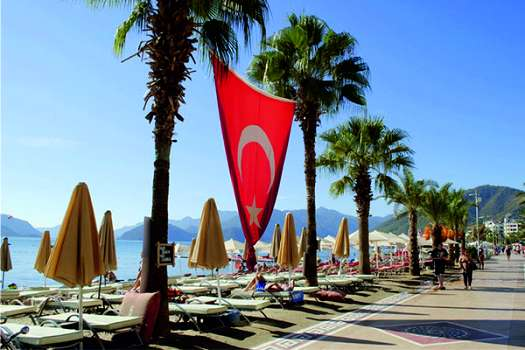 Turkey continues to welcome tourists