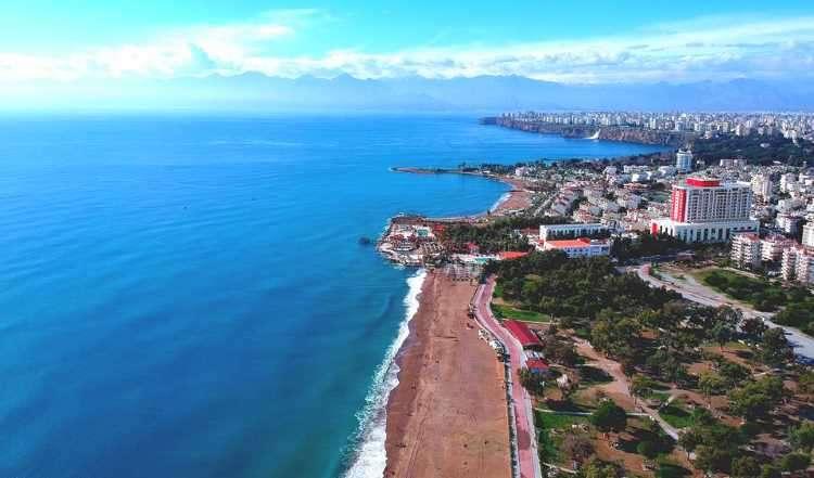 2.5 million tourists visited Antalya