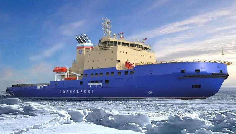 An icebreaker for Russia will be built in Turkey