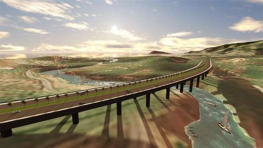 New high-rise road between Turkish cities