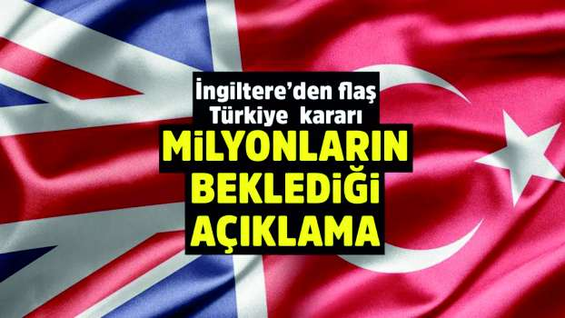 Britain removed Turkey from the