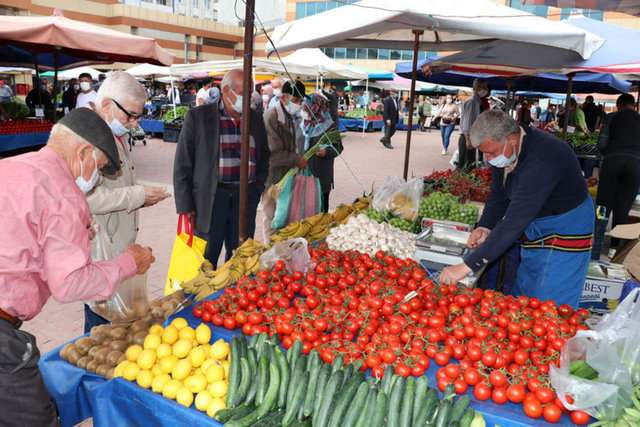 The main event of Saturday - farmers' markets