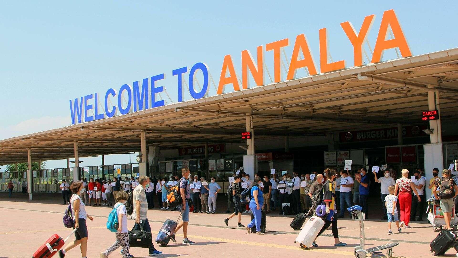 Russians arrive to Turkey