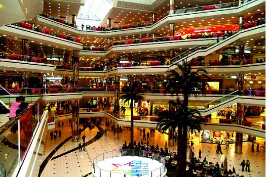 New large shopping malls in Turkey