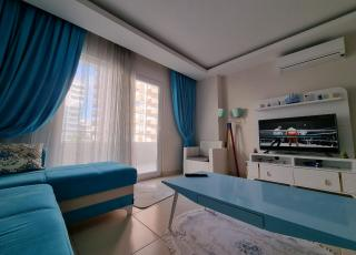 Fully Furnished 2+1 Apartment Near The Sea For Sale in Mahmutlar